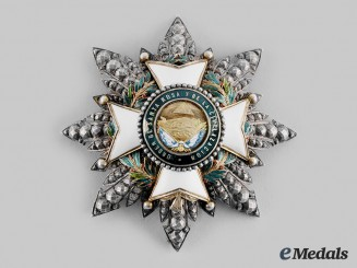 Honduras, Republic. An Order of Santa Rosa and of Civilization, Grand Officer's Star, by Halley, c. 1890
