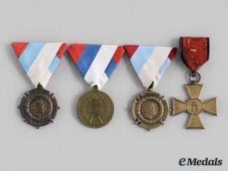 Serbia, Kingdom. A Lot of Four Awards