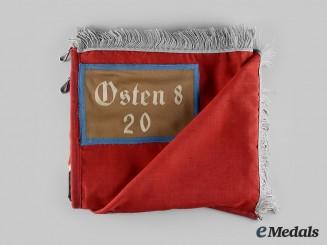 Germany, DAF. A German Labour Front (DAF) Osten 8 District Flag