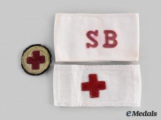 United Kingdom. Three Boer War and First War Red Cross Items