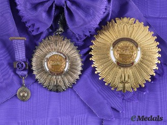 Peru, Republic. A Distinguished Service Order, Grand Cross, by National Coin House, c.1950