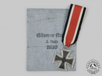 Germany, Wehrmacht. A 1939 Iron Cross II Class, by Ernst. L Müller