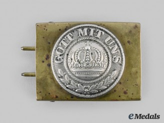 Germany, Imperial. An EM/NCO's Belt Buckle, c.1890