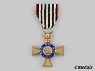 Prussia, Kingdom. A Royal Order of the Crown, IV Class with Geneva Cross, c.1872