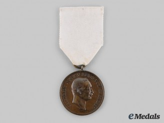 Saxony, Kingdom. A Bronze Medal for Life-Saving, Version VI, c.1910