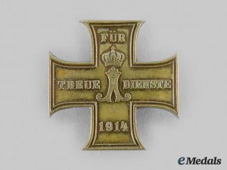 Schaumburg-Lippe, Principality. A Faithful Service Cross, I Class, c.1915