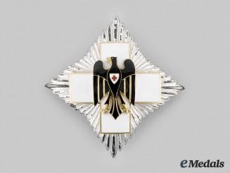 Germany, DRK. A German Red Cross Honour Badge Star, c.1935