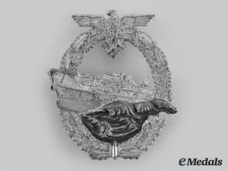 Germany, Kriegsmarine. An E-Boat War Badge, II Pattern, by Schwerin