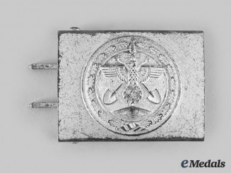 Germany, Third Reich. A Rare Organisation Todt Belt Buckle