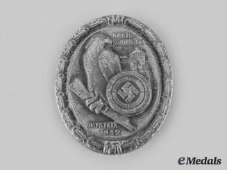 Germany, DSB. A 1942 German Shooting Association Kufstein Badge, by Carl Poellath