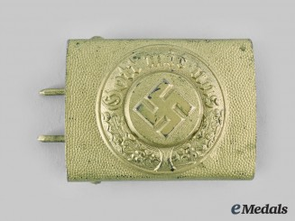 Germany, Wasserschutzpolizei. A Water Police Enlisted Personnel Belt Buckle