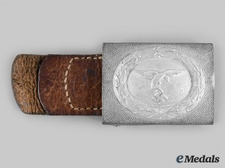 Germany, Luftwaffe. A Luftwaffe EM/NCO's Belt Buckle, by F.W. Assmann & Söhne