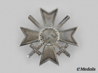 Germany, Wehrmacht. A War Merit Cross, I Class with Swords, by Carl Poellath