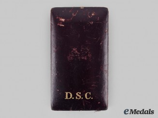 United States. An Army Distinguished Service Cross Case, c.1918