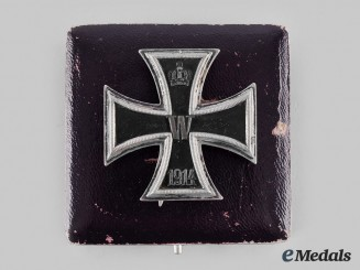 Germany, Imperial. A 1914 Iron Cross, I Class with Case, by Carl Dillenius