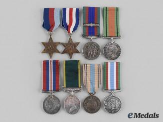 Canada, Commonwealth. A European Theatre Medal Group, 8th Reconnaissance Regiment (VIII RECCE)
