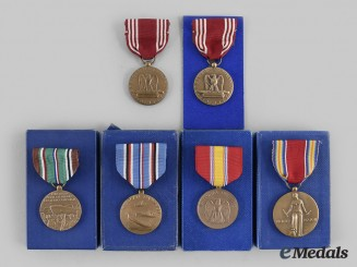 United States. A Second World War Group of Medals