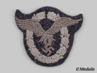 Germany, Luftwaffe. A Pilot's Badge, Cloth Version