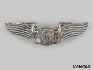 United States. A United States Army Air Forces Glider Pilot's Wing, by Amcraft