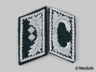 Germany, Third Reich. A Pair of Customs Service Collar Tabs