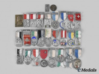 Switzerland, Confederation. A Lot of Seventy-Six Insignia, Medals, & Awards