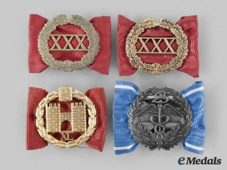 Finland, Republic. A Lot of Four Army Badges