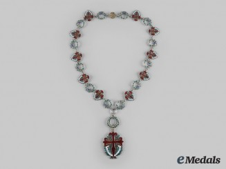 Portugal, Republic. An Order of St. James of the Sword (GCSE), Collar, by Pinhão M., c.1950