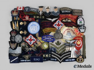 Canada, International. A Lot of Seventy Air Force, Army and Navy Items