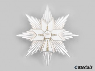 Croatia, Independent State. An Order of King Zvonimir's Crown, Civil Division, I Class Star, by Griesbach & Knaus c.1942