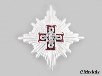 Croatia, Independent State. An Order of Merit, I Class Star, by Braća Knaus, c.1942