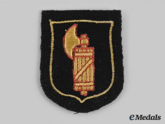 Germany, SS. A 29th Waffen Grenadier Division of the SS (1st Italian) Sleeve Shield