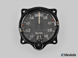 Germany, Luftwaffe. A Fl22322 Altitude Meter for Late-War Fighter Planes, c. 1944