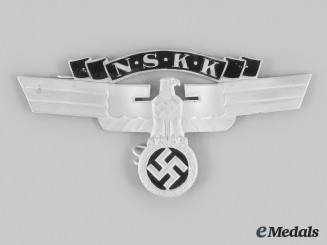Germany, NSKK. A Crash Helmet Eagle Insignia, Second Pattern, by Ferdinand Wagner