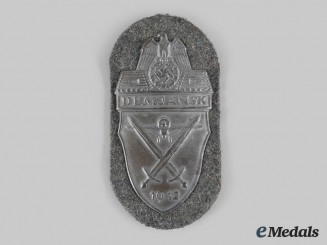 Germany, Wehrmacht. A Demjansk Shield, Heer Issue