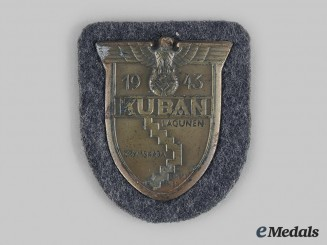Germany, Wehrmacht. A Kuban Shield, Luftwaffe Issue