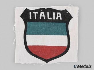 Germany, SS. An Italian SS Volunteer Legion Sleeve Shield