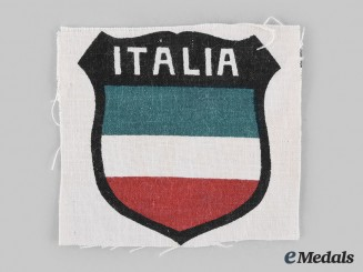 Germany, SS. An Italian SS Volunteer Legion Sleeve Shield