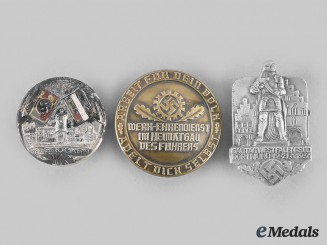 Germany, Third Reich. A Lot of Commemorative Badges