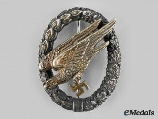 Germany, Luftwaffe. A Fallschirmjäger Badge, by C.E. Juncker