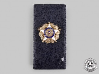 Chile, Republic. An Order of Merit, Grand Cross Star with Case, c.1950