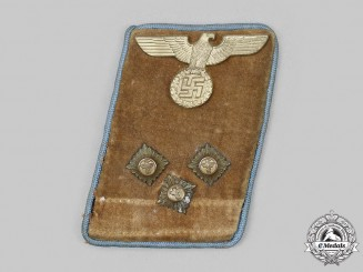Germany, NSDAP. An Orts-Level Einsatzleiter Collar Tab