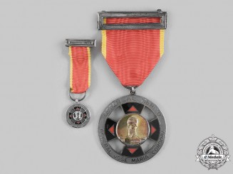 "Colombia, Republic. An Order of Military Merit ""Jose Maria Cordoba"", Officer's set c. 1960"