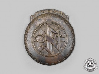 Germany, NSKK. A Dutch NSKK Eastern Front Volunteer's Honour Badge