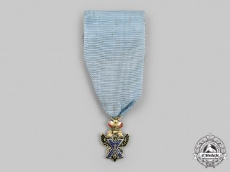 Russia, Imperial. An Order of Saint Andrew the First-Called, Miniature Version