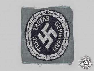 Germany, Ordnungspolizei. A Schutzmannschaft/Auxiliary Police Sleeve Insignia