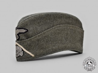 Germany, SS. A Waffen-SS Infantry EM/NCO's M40 Overseas Cap