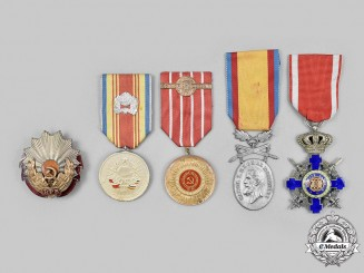 Romania, Kingdom, People's Republic. A Lot of Five Awards