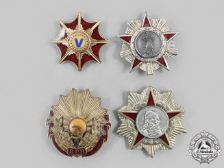 Albania, People's Republic; Romania, People's Republic. A Lot of Four Socialist Awards