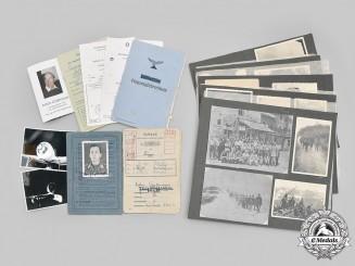 "Germany, Luftwaffe. The Documents & Photos to Flying Ace Feldwebel Anton Gaißmayer of JG 300 ""Wild Boar"""