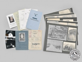 "Germany, Luftwaffe. The Documents & Photos to Flying Ace Feldwebel Anton Gaißmayer of JG 300 ""Wild Boar"""